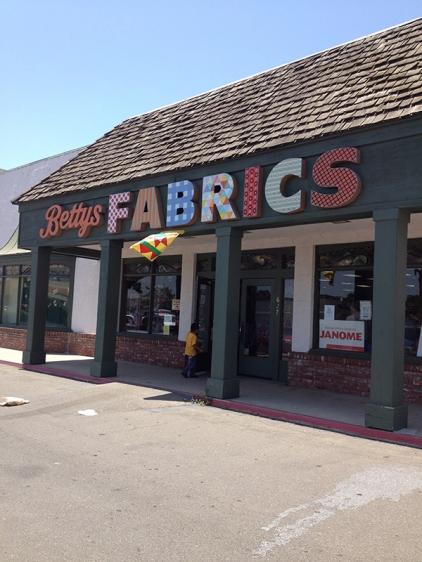 Betty's Fabrics, Santa Maria, CA