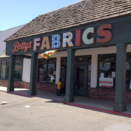 Betty's Fabrics, Santa Maria, CA