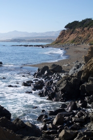 Cambria, Moonstone Beach