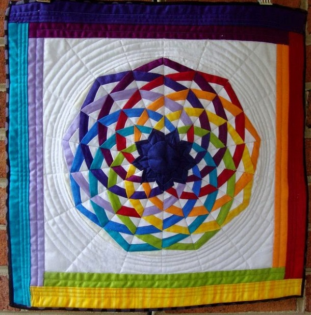 Dancing Ribbons Quilt