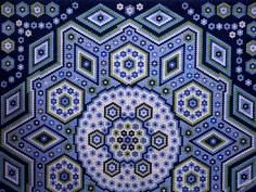 "Hexagon Quilt ""La Passion"", Grit Kovacs"