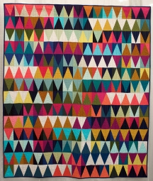 Diamonds Quilt #2, Tara Faughnan