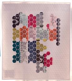 Geometric Text, Nicole Daksiewicz