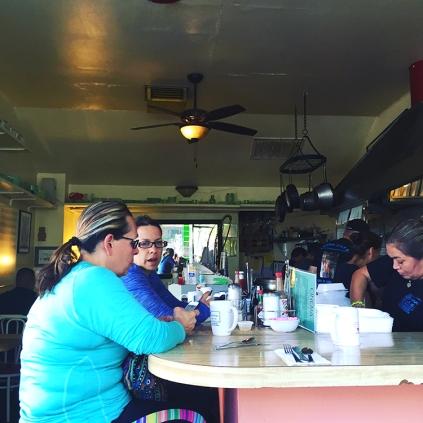 Cinema Cafe, Merced, CA—a little breakfast before we get started