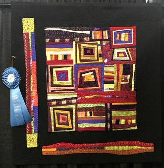 Not Squared Up, Maker/Quilter: Joyce Paterson, Ukiah, CA