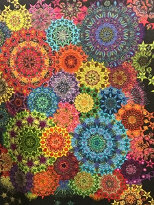 La Passacaglia Unravels, Maker/Quilter: Randa Mulford, Mountain View, CA
