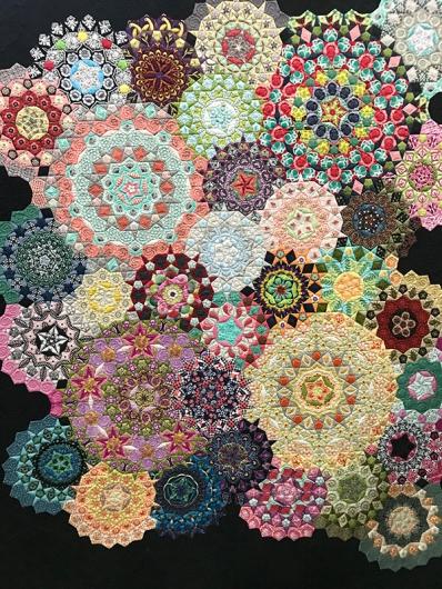 Kaleidoscope Walk, Maker: Kathi Shunn, Quilter: Ami Krenzel, Riverton, UT