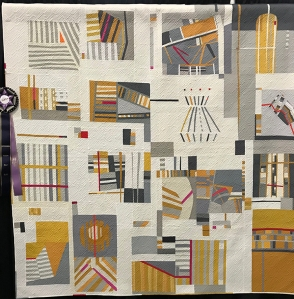 Direction Optional, Maker: Stephanie Z. Ruyle and 2016 Members of Bee Sewcial, Quilter: Christine Perrigo, Denver, CO