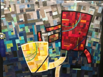 Conversations,Maker/Quilter: Lou Ann Smith, Goleta, CA