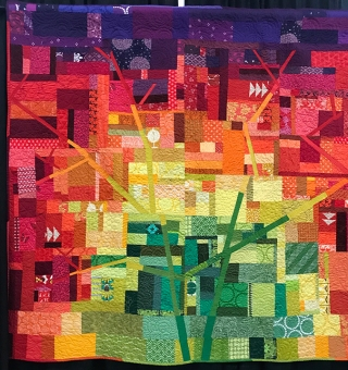 Fall Spectrum, Maker/Quilter: Jessica M. Skultety, Phillipsburg, NJ