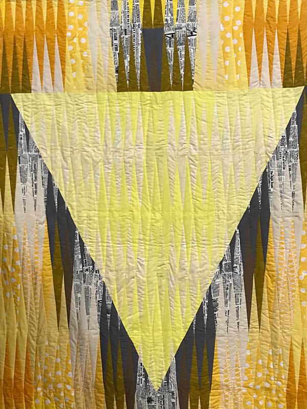 Manipura Quilt, Maker/Quilter: Gail L. Weiss, Portland, OR