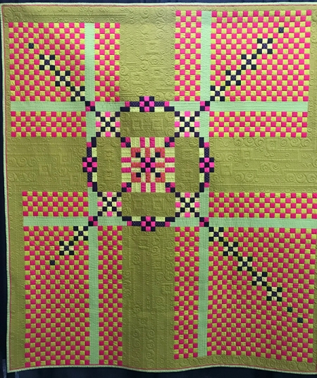 The Miller's Wheel, Maker/Quilter: Catherine Butterworth, Lindfield, NSW, Australia