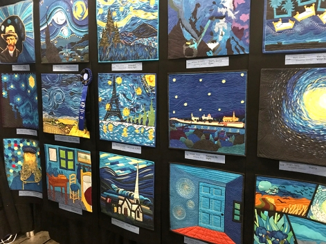 Cherrywood Fabrics: Van Gogh, Challenge Exhibit