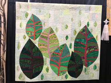 Go Green, Maker/Quilter: Linda Evans, Murrieta, CA