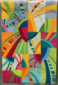 SAQA PRESENTS: MODERN INSPIRATIONS—ART QUILTS FROM THE 1970s THROUGH TODAY, Jubilo, Diane Melms, Anchorage, Alaska, 2014