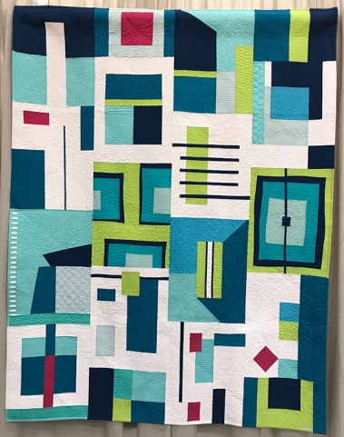 IMPROVISATION, A Little Bit of This, A Little Bit of That, Debra Kidd, Sacramento Modern Quilt Guild