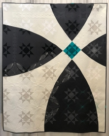 MODERN TRADITIONALISM, Ohio Snowball, Christine Perrigo, Denver Metro Modern Quilt Guild