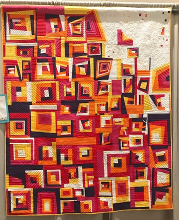 #VENTURA Strong, Ventura Modern Quilt Guild, Quilted by Scott Griffin
