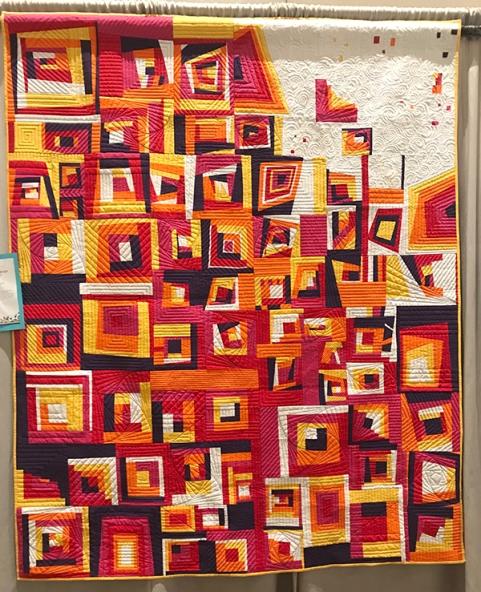#VENTURA Strong, Ventura Modern Quilt Guild, Quilted by Scott Griffin